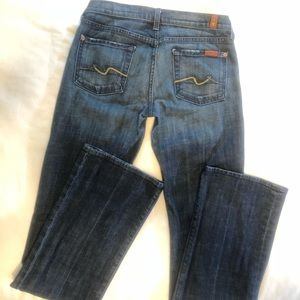 7 For All Mankind Denim, Bootcut, Size 26